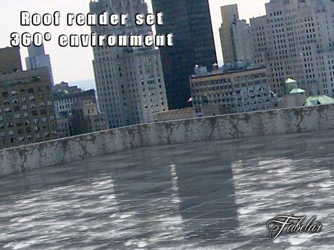 Roof Render set3D model