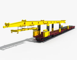 Laying Machine 3D Model
