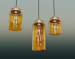 Lamp Glass Jar 3D Model