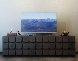 TV Furniture Sorrento 3D model