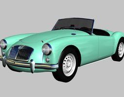3D model MG MGA Twin-Cam 1958