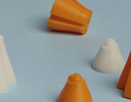 Chess Cheese Emilie and Claude-8 s Appetizer 3D Model
