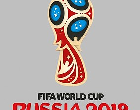 fifa worl cup russia 2018 STL model for 3d