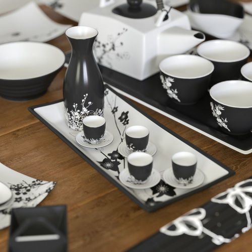 a set of dishes in the japanese style 3d model max obj mtl fbx 1