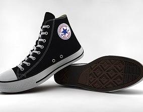 ef82138526 Casual Shoes Chuck Taylor Hi 3D model realtime