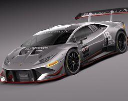 Lamborghini Huracan LP620-2 Super Trofeo 2015 3D Model