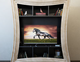 3D TV Furniture Corniche