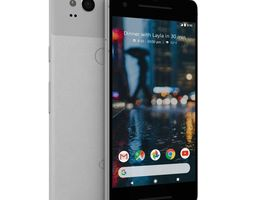 3D asset Google Pixel 2 Clearly White