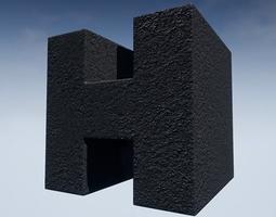 Seamless Customizable Asphalt Material Pack 108 3D