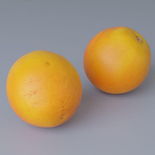orange photoscan 3d model max obj 1