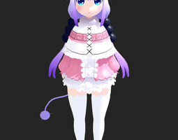 3D model Kanna