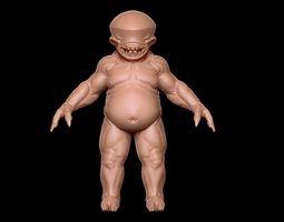 demon base 3D model