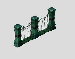 3D building Wicked Creator - Wall 02