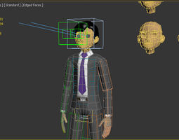 3D model SIMPLE CARTOON CHARACTER