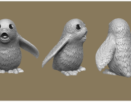 3D printable model Star Wars The Last Jedi Porg