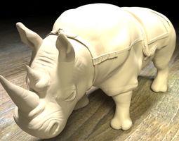 3D printable model Rhinoceros sculpt