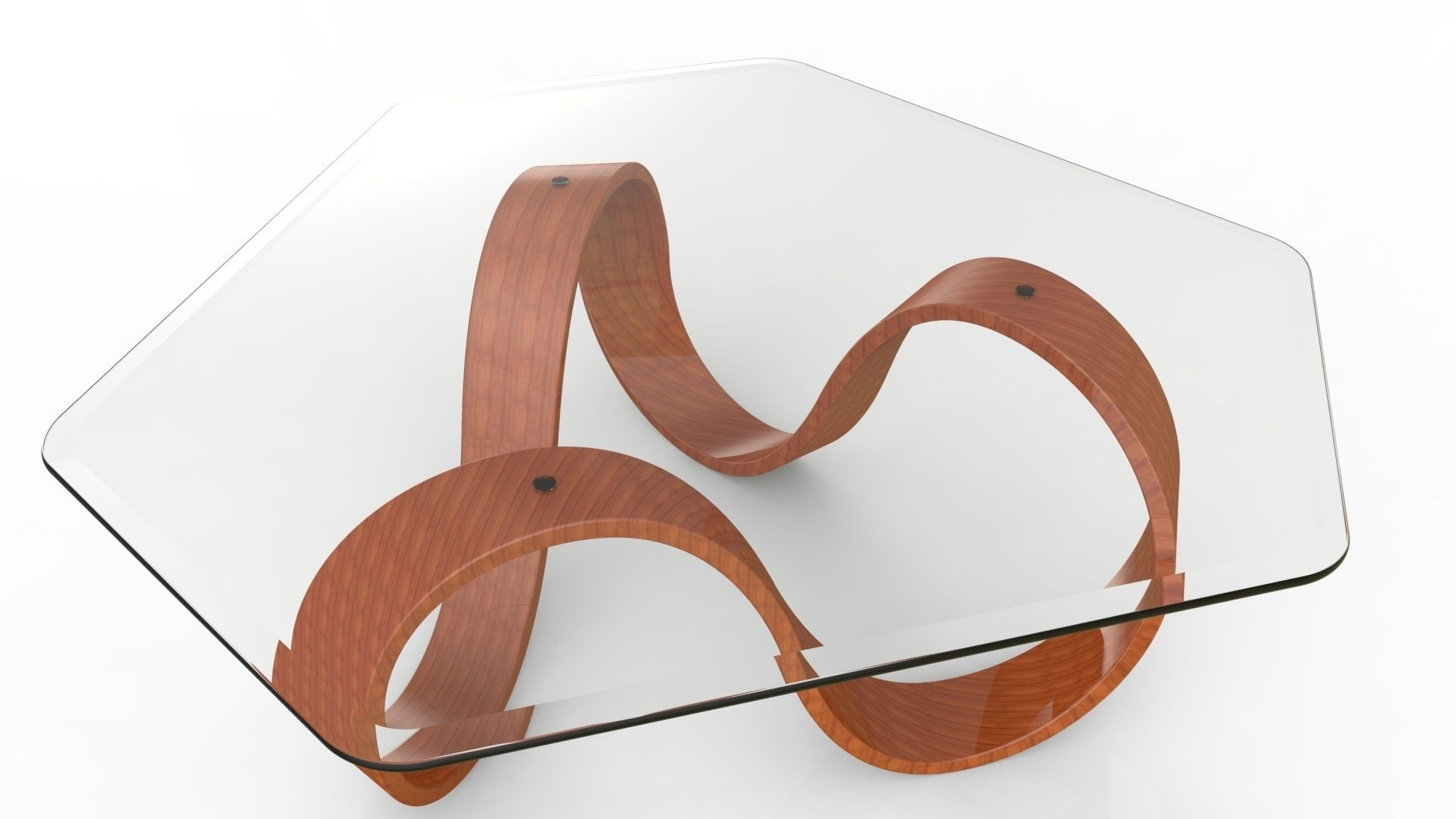 3D model Mobius Coffee Table III