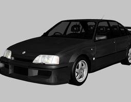 3D asset Lotus Carlton 1990