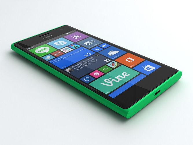Nokia Lumia 7353D model