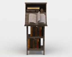 book stand realtime 3d asset