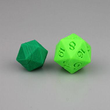 printable 3d dice
