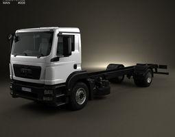 MAN TGM Chassis Truck 2008 3D Model