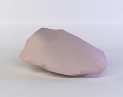 game-ready 3d asset pink rock1