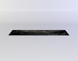 black decal 3d model realtime