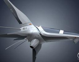 veg-03 spaceship 3d model