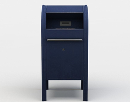 realtime 3d model mail box