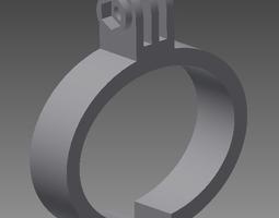 gopro wristband 3d print model