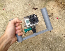 gopro stabilizer 3d printable model