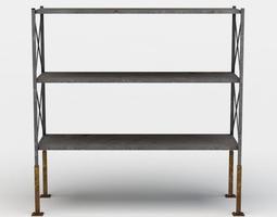 3d asset realtime shelf large