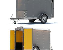 Cargo Trailer 02 3D Model