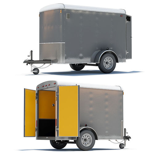 Cargo Trailer 023D model