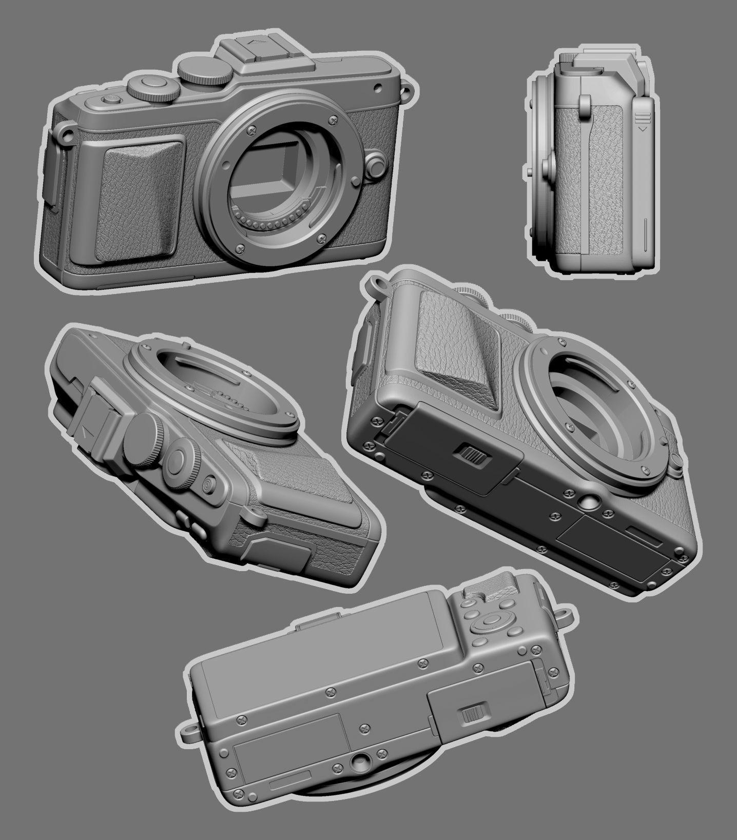Camera Model-Olympus PEN E-PL7
