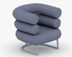 0064 - Modern Armchair 3D model