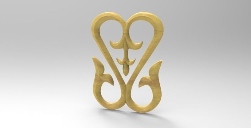 Woodcarving decor for CNC | 3D Print Model