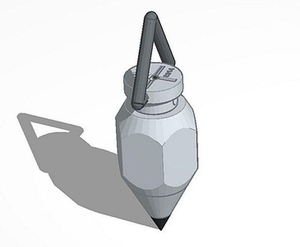 Plumb Bob 3D Print Model