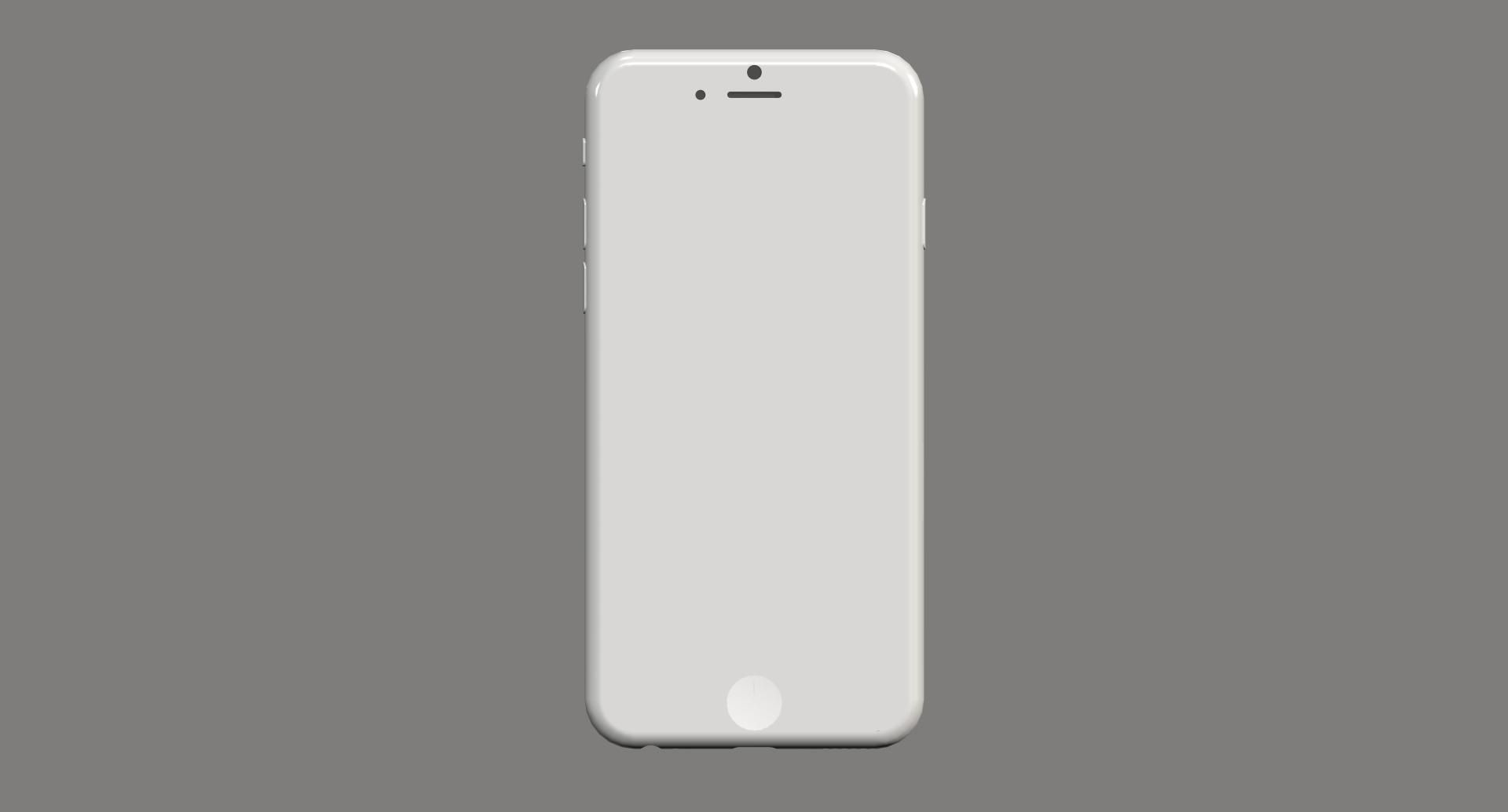 IPhone 6 Mockup 3D Model 3D printable .stl - CGTrader.com