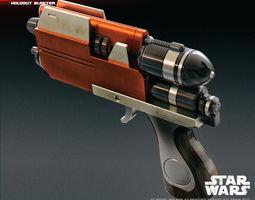 Blurrg-1120 holdout blaster 3D print model