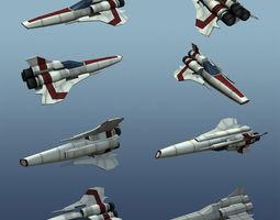 3D model Low Poly Viper MK II