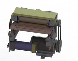 Grinding and polishing machine 3D