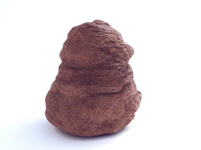 low poly sand stone 2  3d model low-poly max obj mtl fbx 1