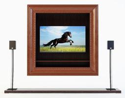 3D model TV Furniture Casablanca