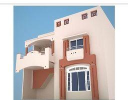 house 3D brick