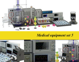 Lab equipment 5 3D