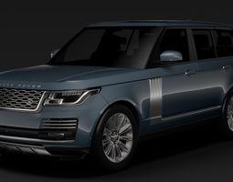 Range Rover Autobiography L405 2018 3D