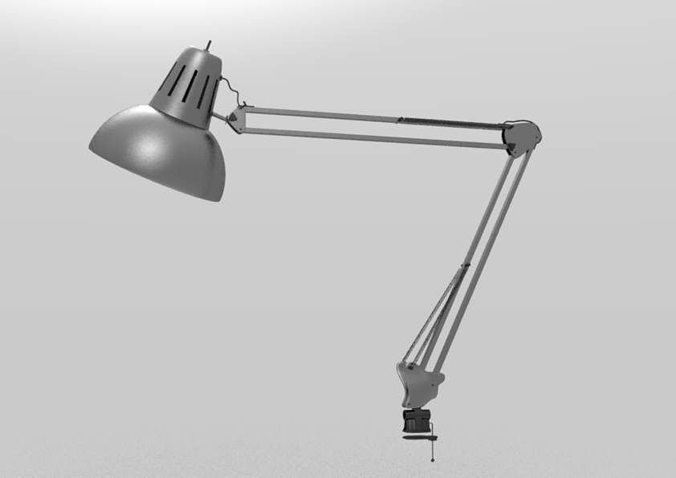Flexible Desk Lamp 3D | CGTrader
