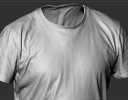 T Shirt Red 3D model